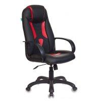 Игровое кресло Бюрократ VIKING-8-BL+Red