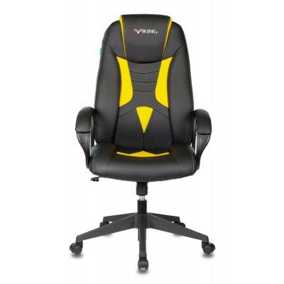 игровое кресло Бюрократ VIKING-8N-BL-YELL