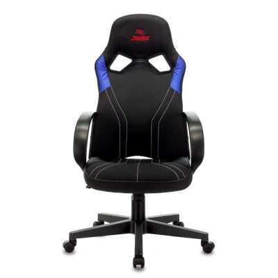 игровое кресло Бюрократ ZOMBIE RUNNER BLUE