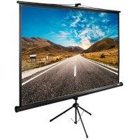 Экран для проектора Cactus CS-PSTE-160X160-BK