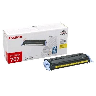 картридж Canon 707Y 9421A004