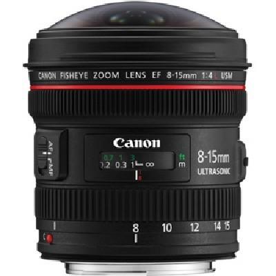 объектив Canon EF 8-15 F4.0 L USM Fisheye