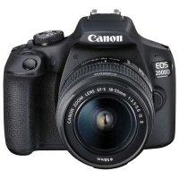 Фотоаппарат Canon EOS 2000D 2728C002