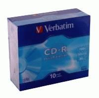 Диск CD-R Verbatim 43415 10 шт