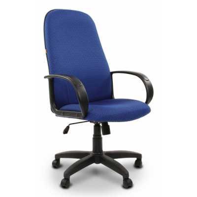 офисное кресло Chairman 279 Black-Blue 1152933