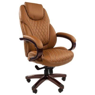 офисное кресло Chairman 406 Brown 7027814
