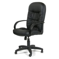 Офисное кресло Chairman 416V ЭКО Black Matt 6025664