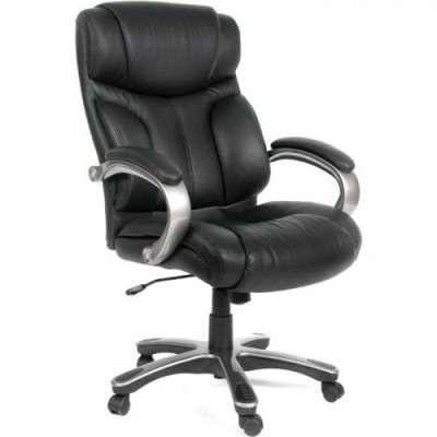 офисное кресло Chairman 435 Black кожа