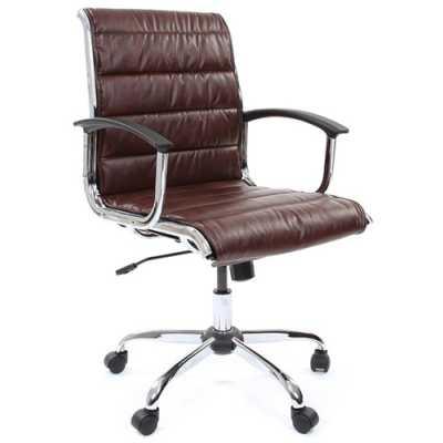 офисное кресло Chairman 760 М Brown 7019105