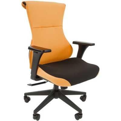 игровое кресло Chairman Game 10 Black-Orange