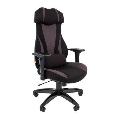 игровое кресло Chairman Game 14 Black-Grey