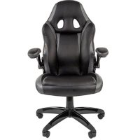 Игровое кресло Chairman game 15 Black-Grey