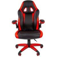 Игровое кресло Chairman game 15 Black-Red