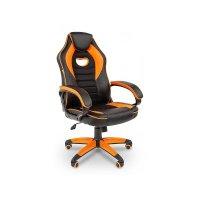 Игровое кресло Chairman game 16 Black-Orange
