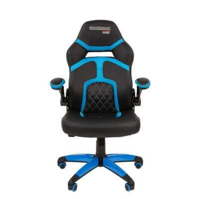 игровое кресло Chairman game 18 Black-Blue