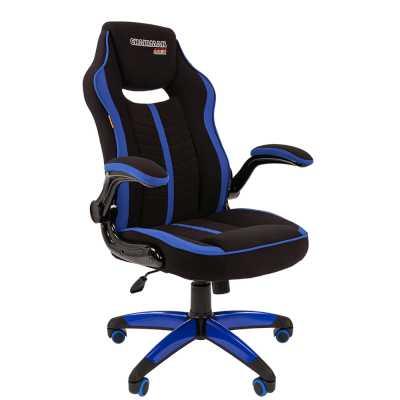 игровое кресло Chairman game 19 Black-Blue