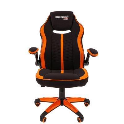 игровое кресло Chairman Game 19 Black-Orange