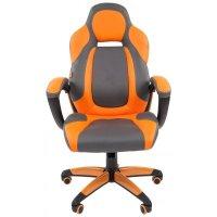 Игровое кресло Chairman Game 20 Grey-Orange