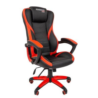 игровое кресло Chairman Game 22 Black-Red