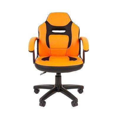 стул Chairman Kids 110 Black-Orange 7049365
