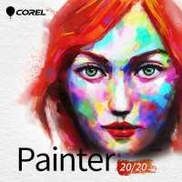 Графика и моделирование Corel Painter 2020 LCPTR2020MLPCM1