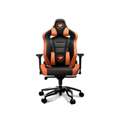 игровое кресло Cougar Throne Black-Orange