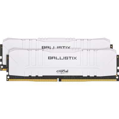 оперативная память Crucial Ballistix White BL2K32G32C16U4W