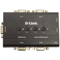 KVM переключатель D-Link DKVM-4U-C1