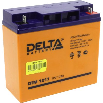 батарея для UPS Delta DTM 1217
