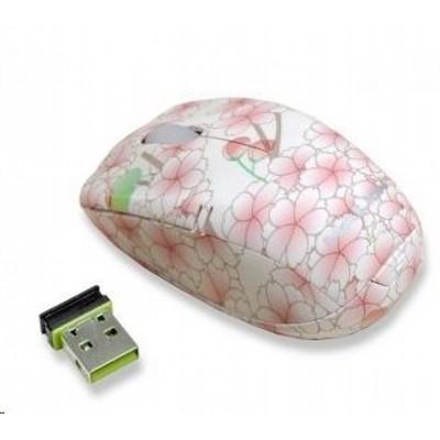 мышь Delux DLM-123GB Pink