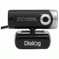 Веб-камера Dialog WC-25U Black