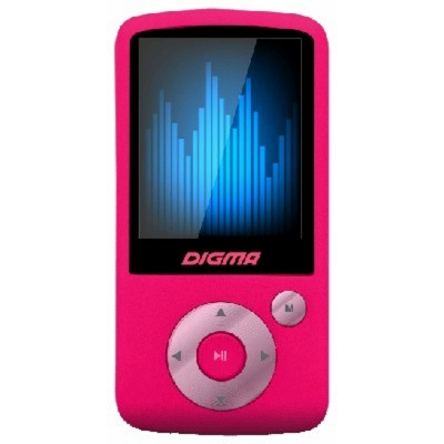 MP3 плеер Digma B2 8GB Ruby