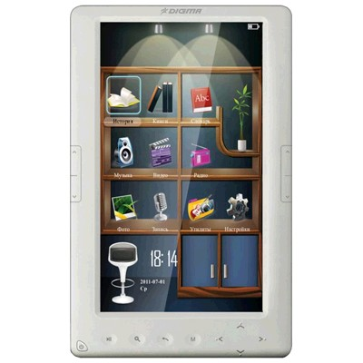 электронная книга Digma c701 White 4GB