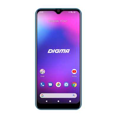 смартфон Digma Citi 609 Blue