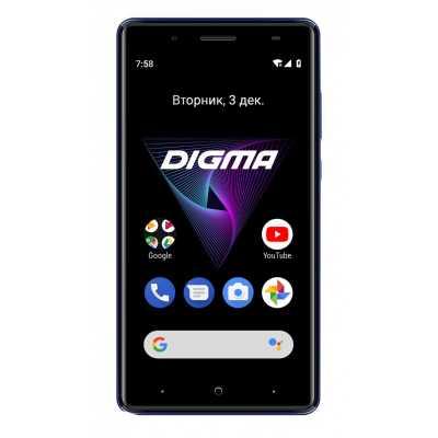 смартфон Digma Hit Q500 3G Blue