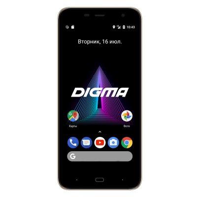смартфон Digma Linx Base 4G Gold