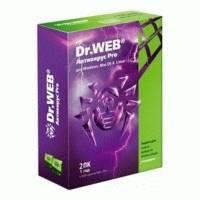 Антивирус Dr. Web Pro для Windows AHW-A-12M-2-A2