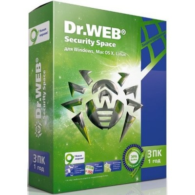 антивирус Dr. Web Security Space AHW-B-12M-3-A2