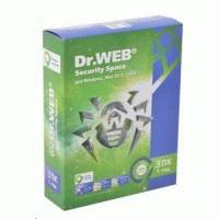 Антивирус Dr. Web Security Space BHW-B-12M-3-A3