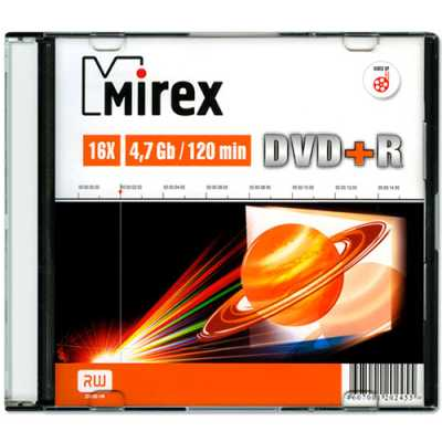 диск DVD+R Mirex 202455