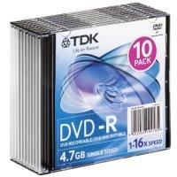 Диск DVD-R TDK t19420 10шт