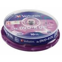 Диск DVD+R Verbatim 43666