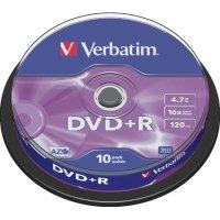 Диск DVD+R Verbatim 43498