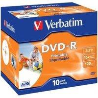 Диск DVD-R Verbatim 43521