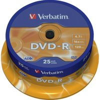 Диск DVD-R Verbatim 43522