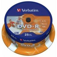 Диск DVD-R Verbatim 43538