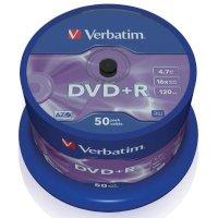 Диск DVD+R Verbatim 43550