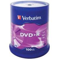 Диск DVD+R Verbatim 43551