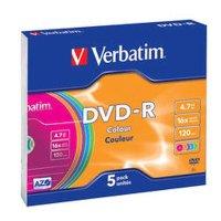 Диск DVD-R Verbatim 43557
