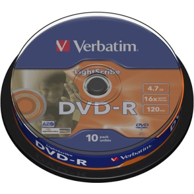 диск DVD-R Verbatim 43643